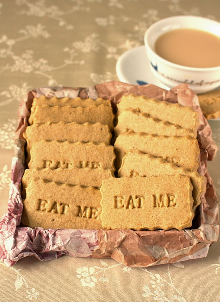 Speculaas Spiced Shortbread Biscuits