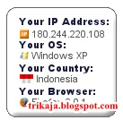 Pasang Pelacak IP Address