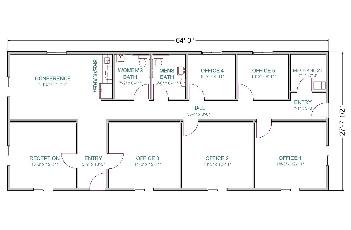 Sample Office Layout
