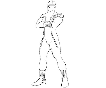 #9 Cyclops Coloring Page