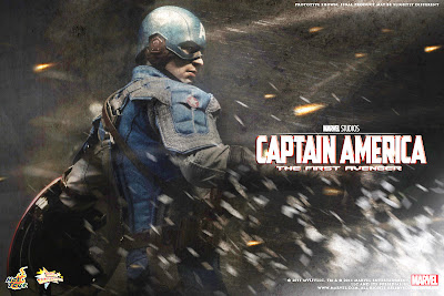 Site Blogspot  Captain America Shield on Toyhaven  Hot Toys 1 6 Captain America Teaser
