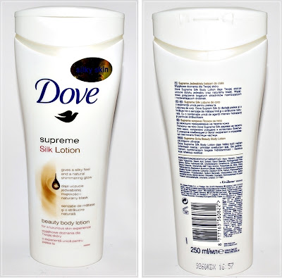 Balsam do ciała Dove - silky skin