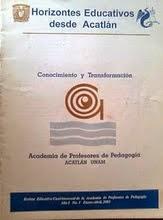 Horizontes educativos desde Acatlán