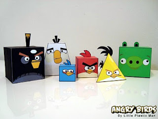 Angry Birds Papercraft by Littie