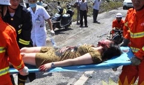 accidente-coche-mujer-rescatada