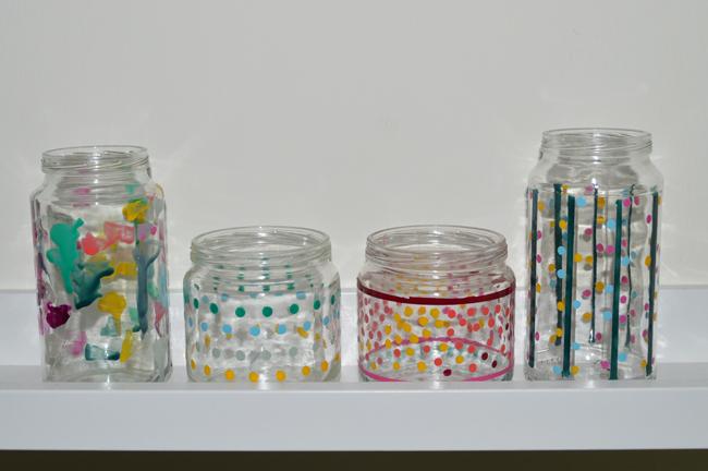 botes de cristal con pintauas - Botes De Cristal Decorados