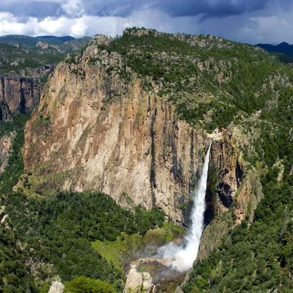 Basaseachic Falls Mexico, Cascada de Basaseachic, Mexico