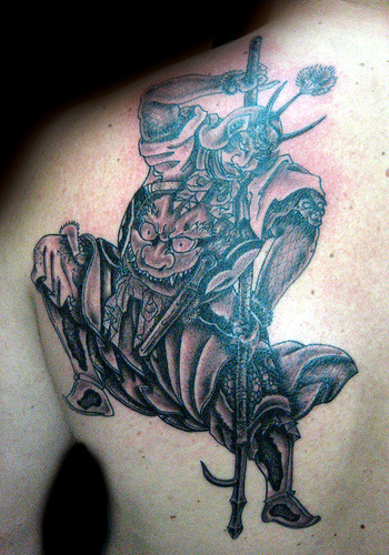 japanese samurai tattoo. japanese samurai tattoos.
