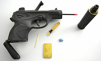 Ted Noten Creates Feminine Firearms As Makeup Kits Seen On www.coolpicturegallery.us