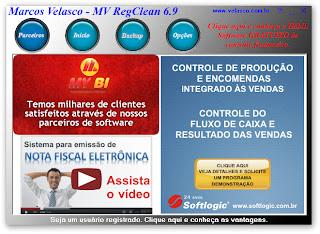painel MV RegClean