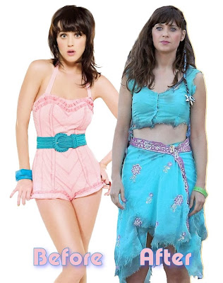 Katy Perry, before and after