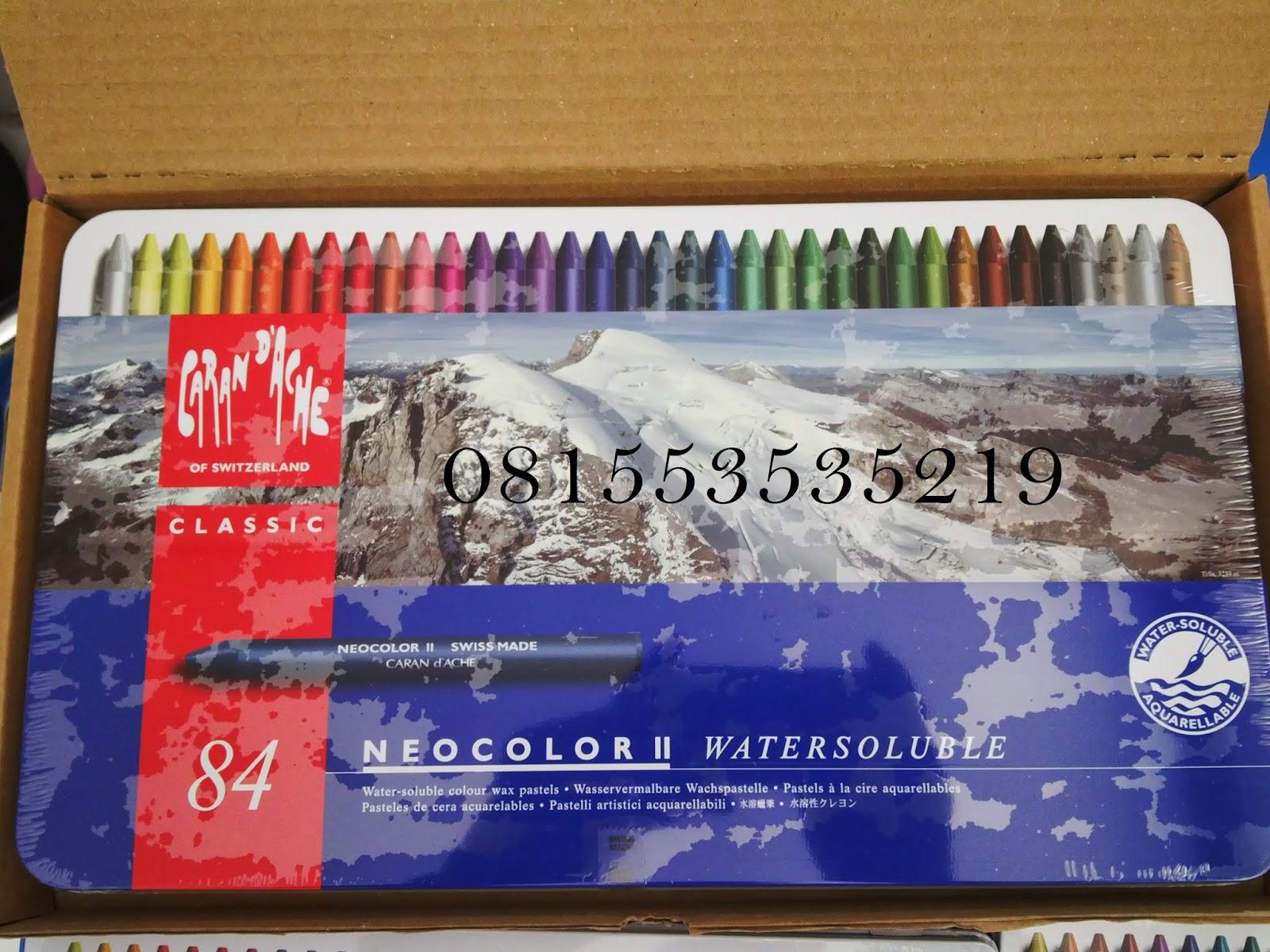 Crayon Carandache Asli Swiss Mewarnai