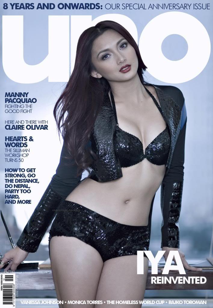 iya villania sexy bikini in uno magazine