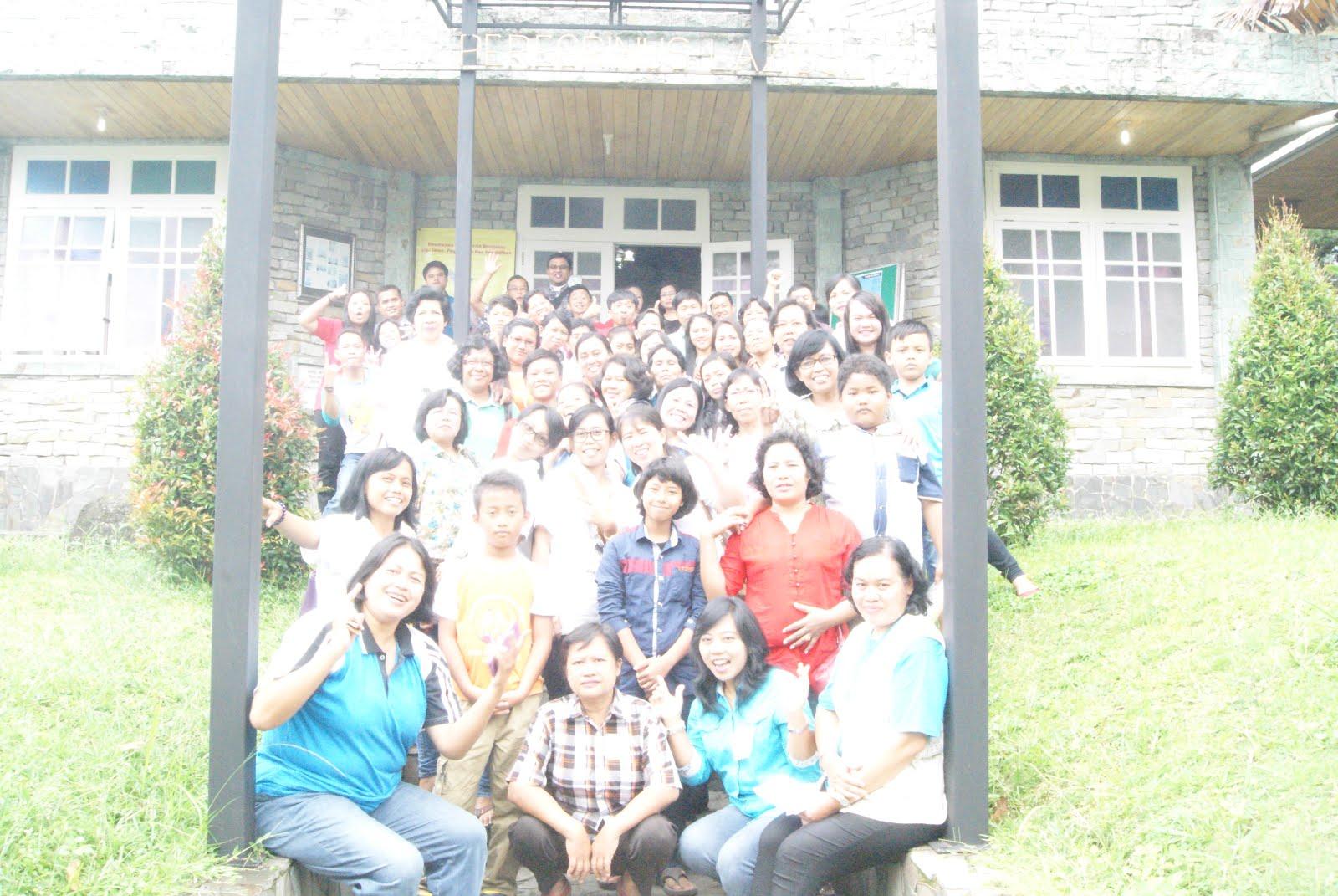 Bersama pendamping PIA Dekenat Selatan Keuskupan Porwokerto 27-28 Februari 2016