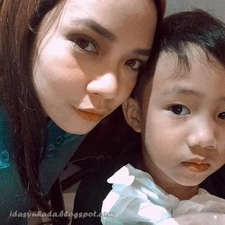 Gambar-Gambar Nora Danish Bersama Anaknya Norayqal