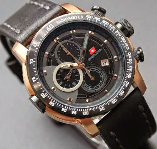 Swiss Army SA 8912 RG Original hitam