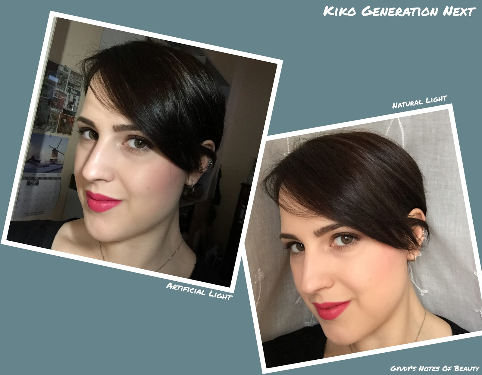 Kiko Generation Next FOTD Look
