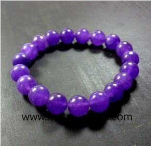 gelang batu permata kecubung ungu-batu mulia-natural-asli-murah