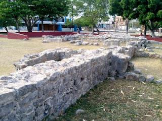 Restos arqueológicos parque Granjas