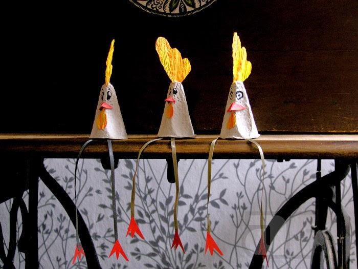 Koguty Wielkanocne Jak Zrobić Proste Dekoracje świąteczne Nauka