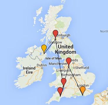 2015 PSYCHO Tour UK