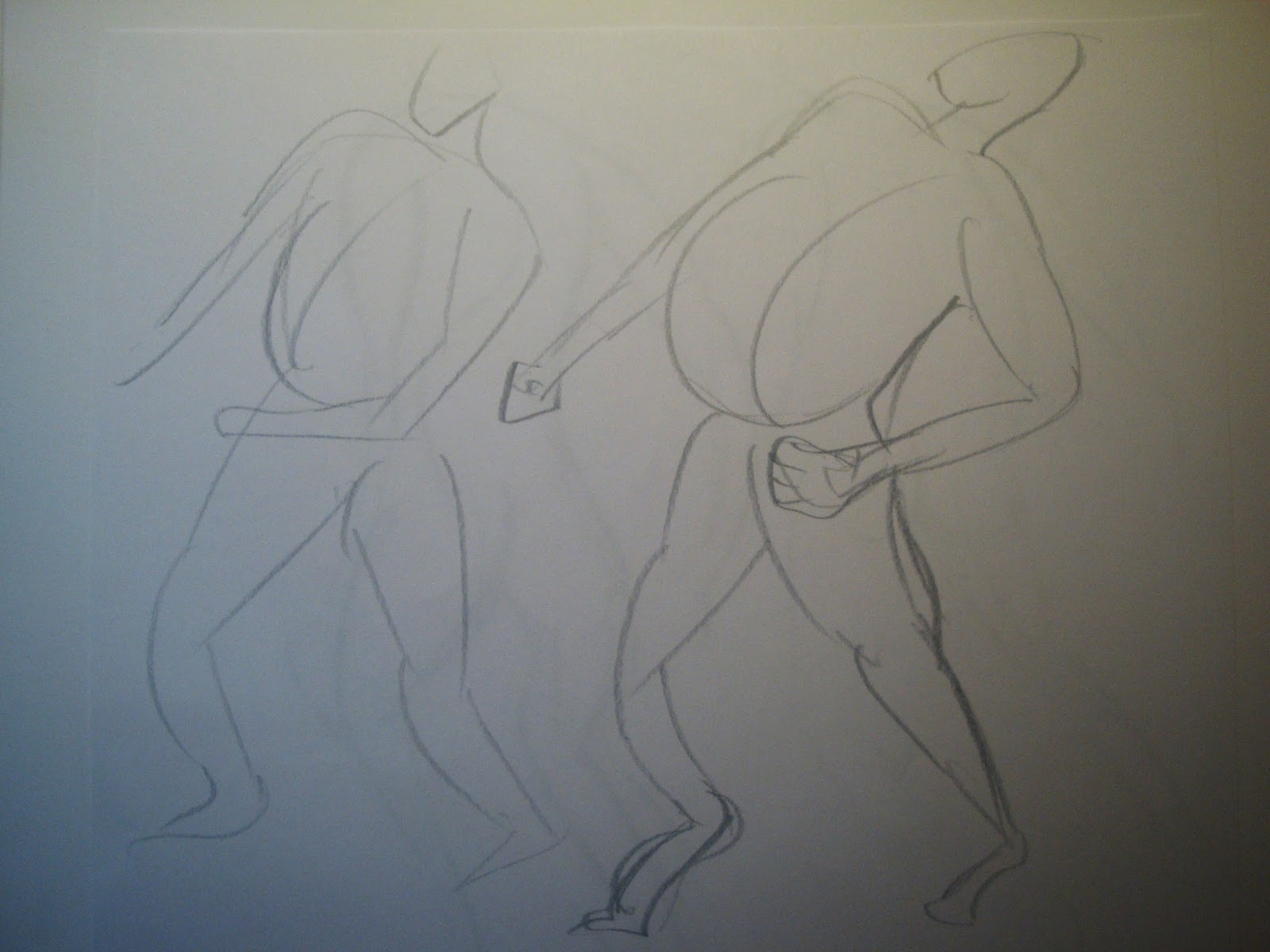 Drawing Lines With Arrows In Photo : Rebecca meilak animation portfolio life drawing th oct week