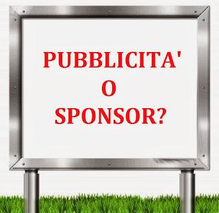Questa è pubblicità o sponsor?