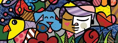 Capas para Facebook Romero Britto | Capa para Facebook | Covers, Capas