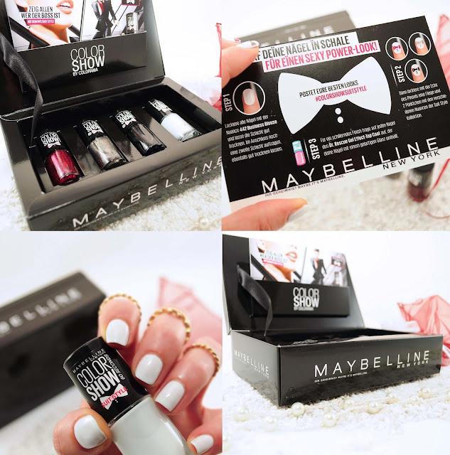 weißer Nagellack von Maybelline Suit Style