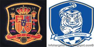 Prediksi Spanyol vs Korea Selatan Kamis 31 Mei 2012