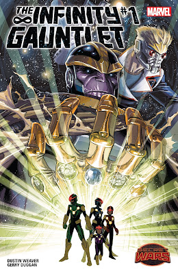 Infinity Gauntlet #1 Cover (Secret Wars)