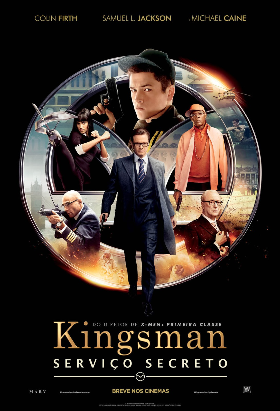 Kingsman – Serviço Secreto (2015) BRrip Blu-Ray 720p/1080p 5.1Ch Dublado – Torrent Download