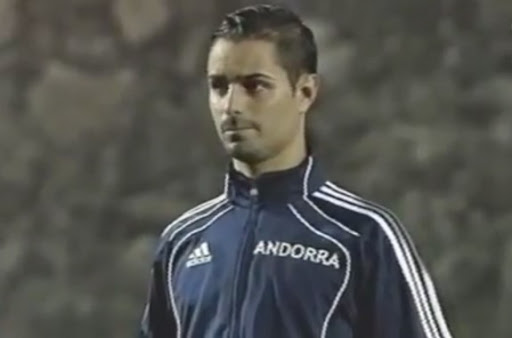 Cristiano Ronaldo's Andorran doppelgänger