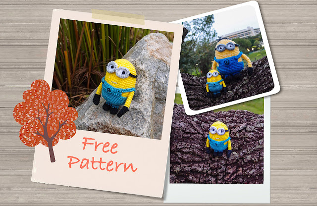 free despicable me minion amigurumi crochet pattern