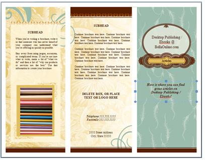 brochure borders brochure designs pics