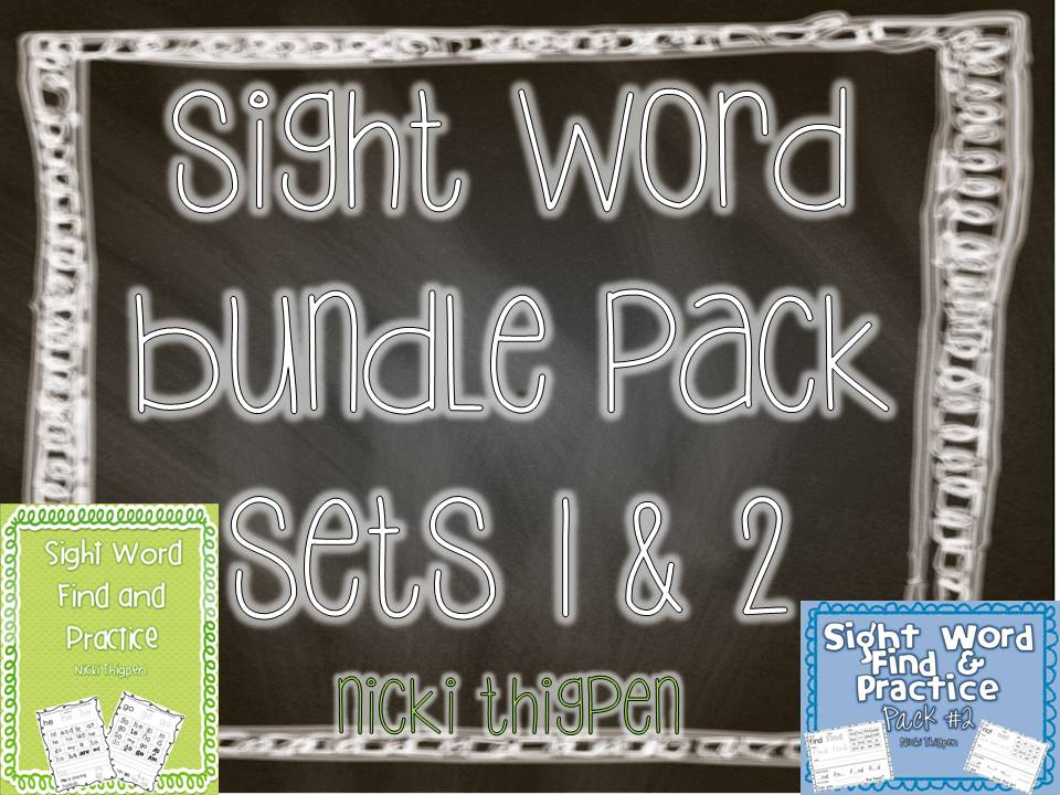 http://www.teacherspayteachers.com/Product/Sight-Word-Find-Practice-Bundled-Sets-1-2-993935