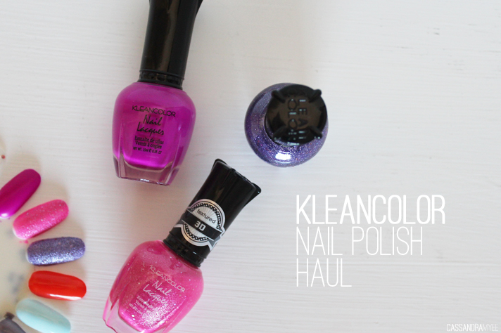 KLEANCOLOR // Nail Polish Haul + Swatches [from Postie] - cassandramyee