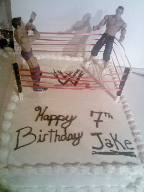 Cake Decorating Classes Near Pomona Ca : Big Bettie cakes: WWE CAKE
