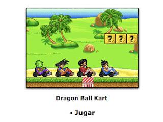 juego de goku de dragon ball kart