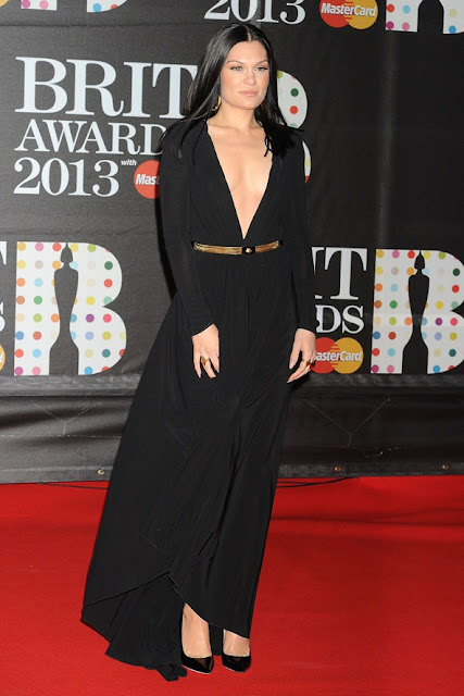 Jessie J Brit Awards 2013 outfit