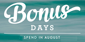 SPEND in August!