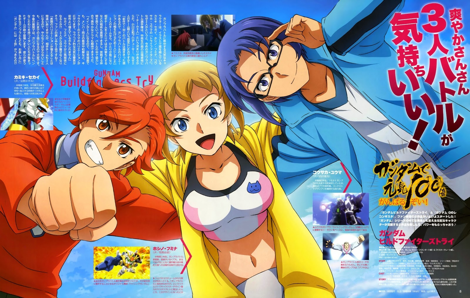 Gundam Build Fighters Try Build Burning Gundam Wallpaper Shortly After The Arista That