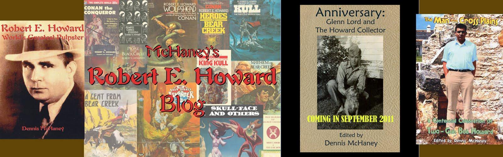 McHaney's Robert E. Howard