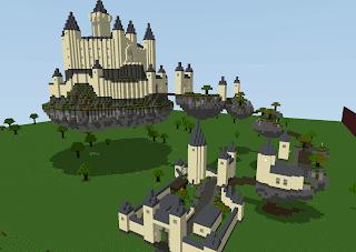 Manic Digger creative castle build