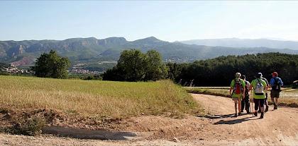 Panoràmica del Cingles de Bertí des de Can Ribes. Autor: Carlos Albacete
