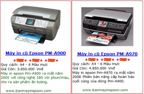 Chuyên bán máy in Epson cũ giá rẻ