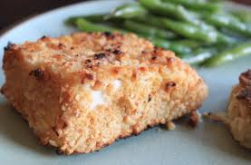 Almond Crusted Halibut