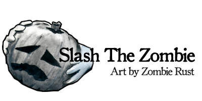 Slash The Zombie: Art by Zombie Rust