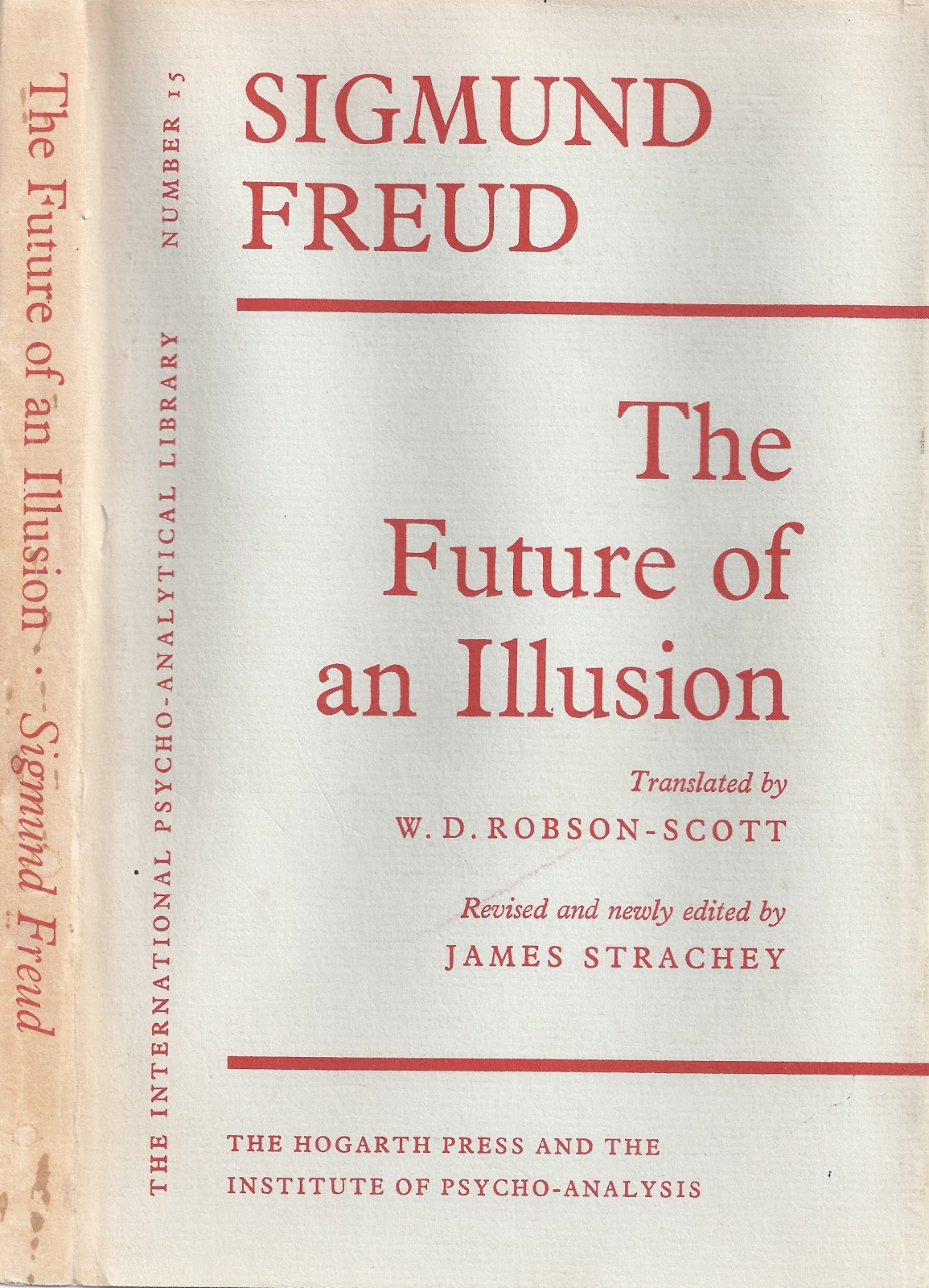 freud and the future of an illusion