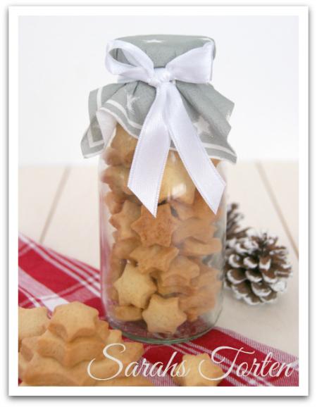 sarahs torten und cupcakes eine weihnachtliche geschenkidee pl tzchen im glas. Black Bedroom Furniture Sets. Home Design Ideas